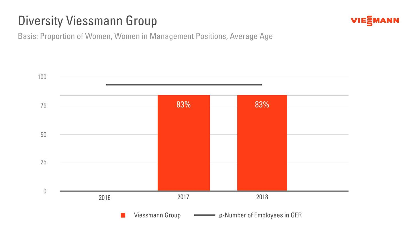The graphic shows the diversity of the Viessmann Group.