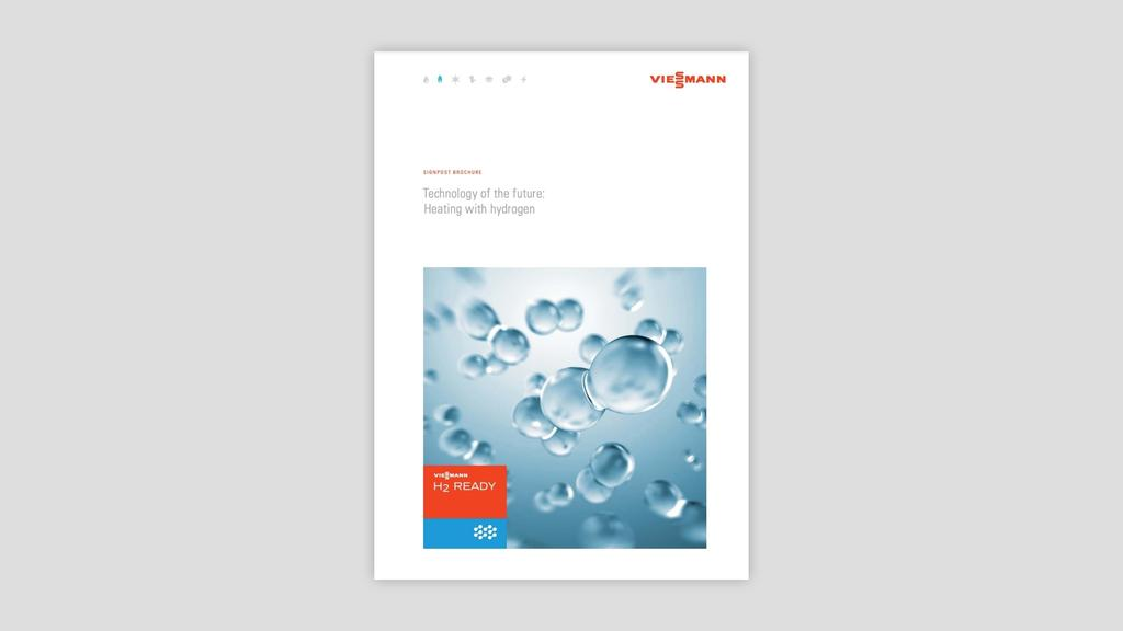 """The brochure """"Technology of the future: Heating with hydrogen"""" for download"""