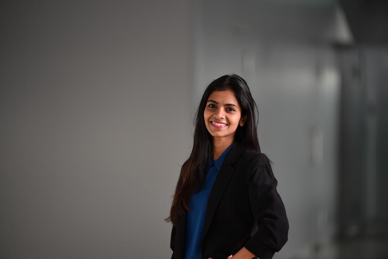 Das Bild zeigt Amruta Patil, Simulationsingenieurin bei Viessmann.