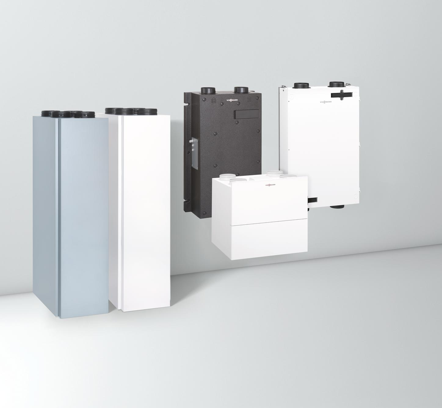 The image shows the Viessmann ViAir products.