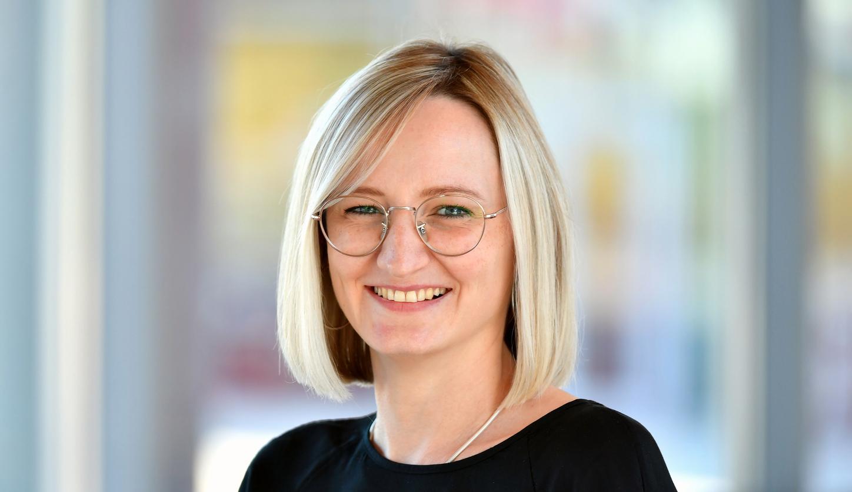 Das Bild zeigt Dr. Marina Pausch, Team Lead Data Science bei Viessmann.