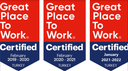 The picture shows the Great Place to Work award for Viessmann Turkey.