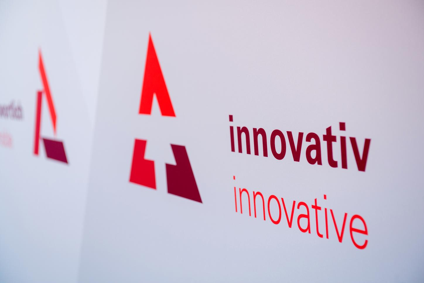 The image shows a logo for innovation.