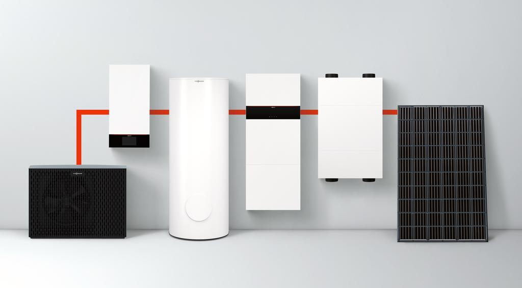 The image shows the system solutions that use the new electronics platform.