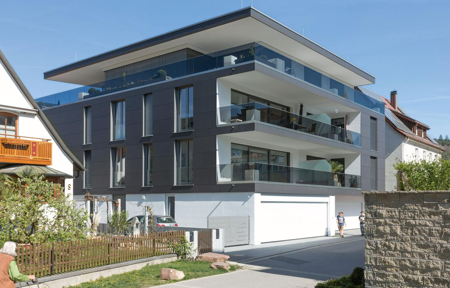 The picture shows the House of the Future in Baden-Württemberg.
