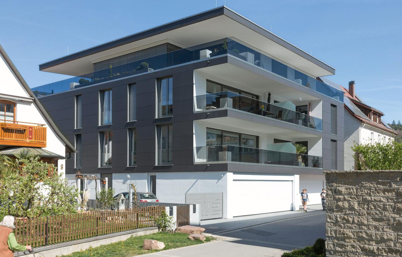 Das Bild zeigt das Haus der Zukunft in Baden-Württemberg