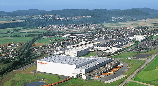 Das Bild zeigt das internationale Warenverteilzentrum
