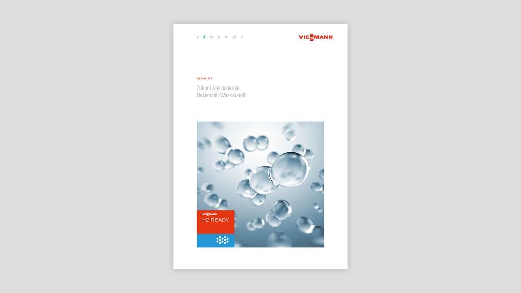 Broschüre zum Download: Heizen mit Wasserstoff