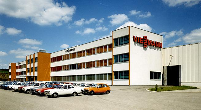 The picture shows the factory in Falquemont