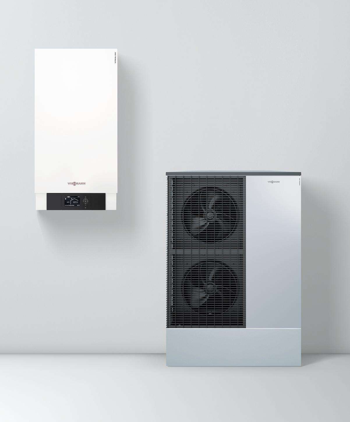 Viessmann air/water heat pump Vitocal 200-S