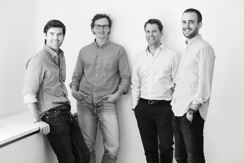 Das Bild zeigt das Team von Vito Ventures.