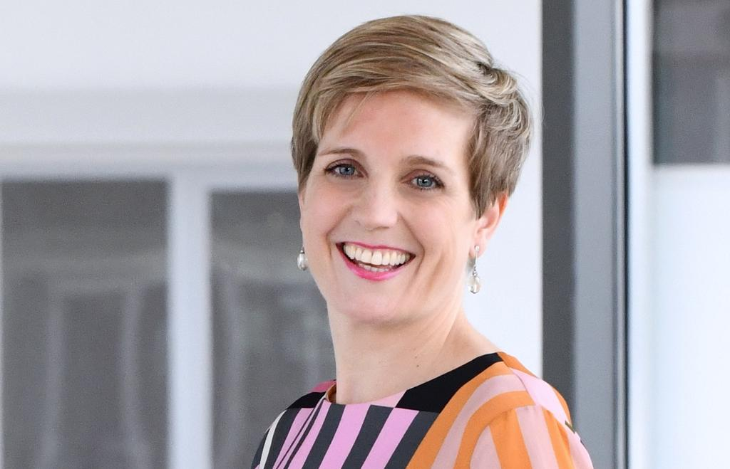 The image shows chief people officer Frauke von Polier