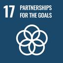 Das Bild zeigt das SDG-Ziel 17 Partnerschaften zur Erreichung der Ziele.