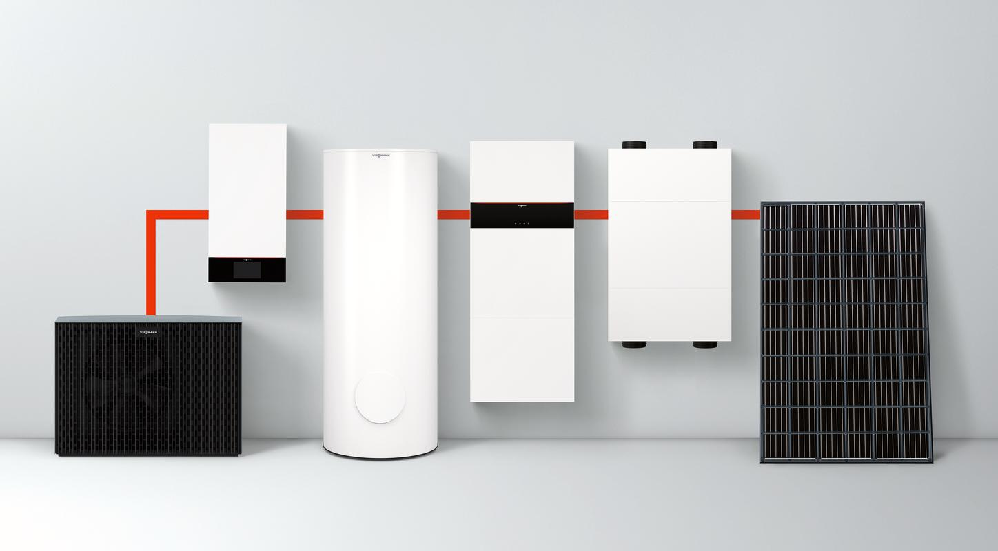 The image shows the new electronics platform from Viessmann.