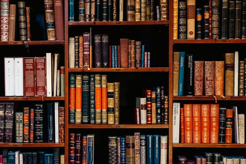 Das Bild zeigt eine alte Bibliothek als Symbol für archivierte News.