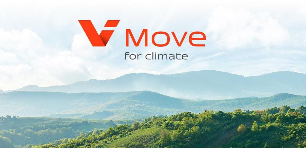 "The image shows the text ""ViMove"" in front of a landscape"