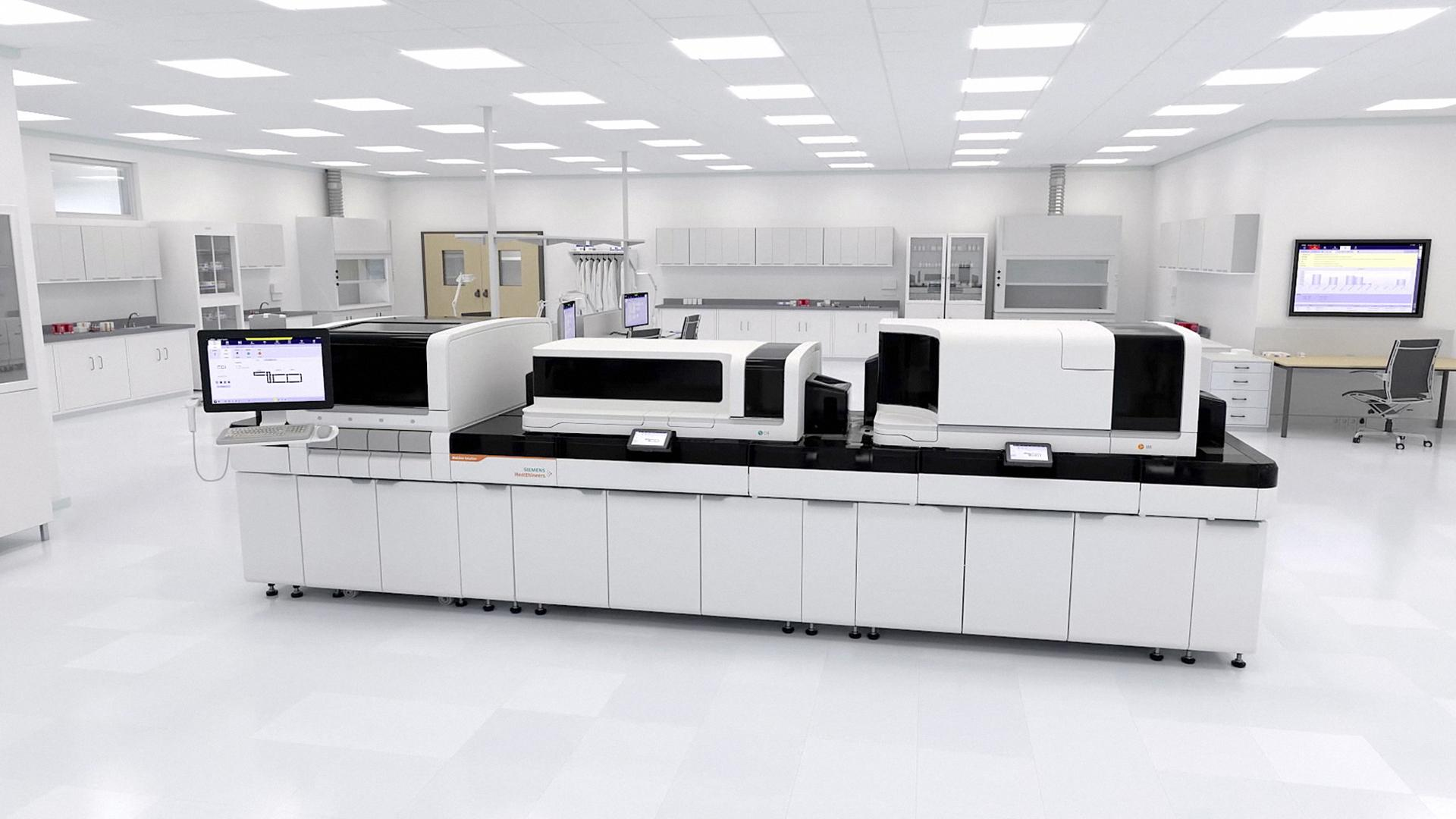 Atellica Solution in a clinical laboratory