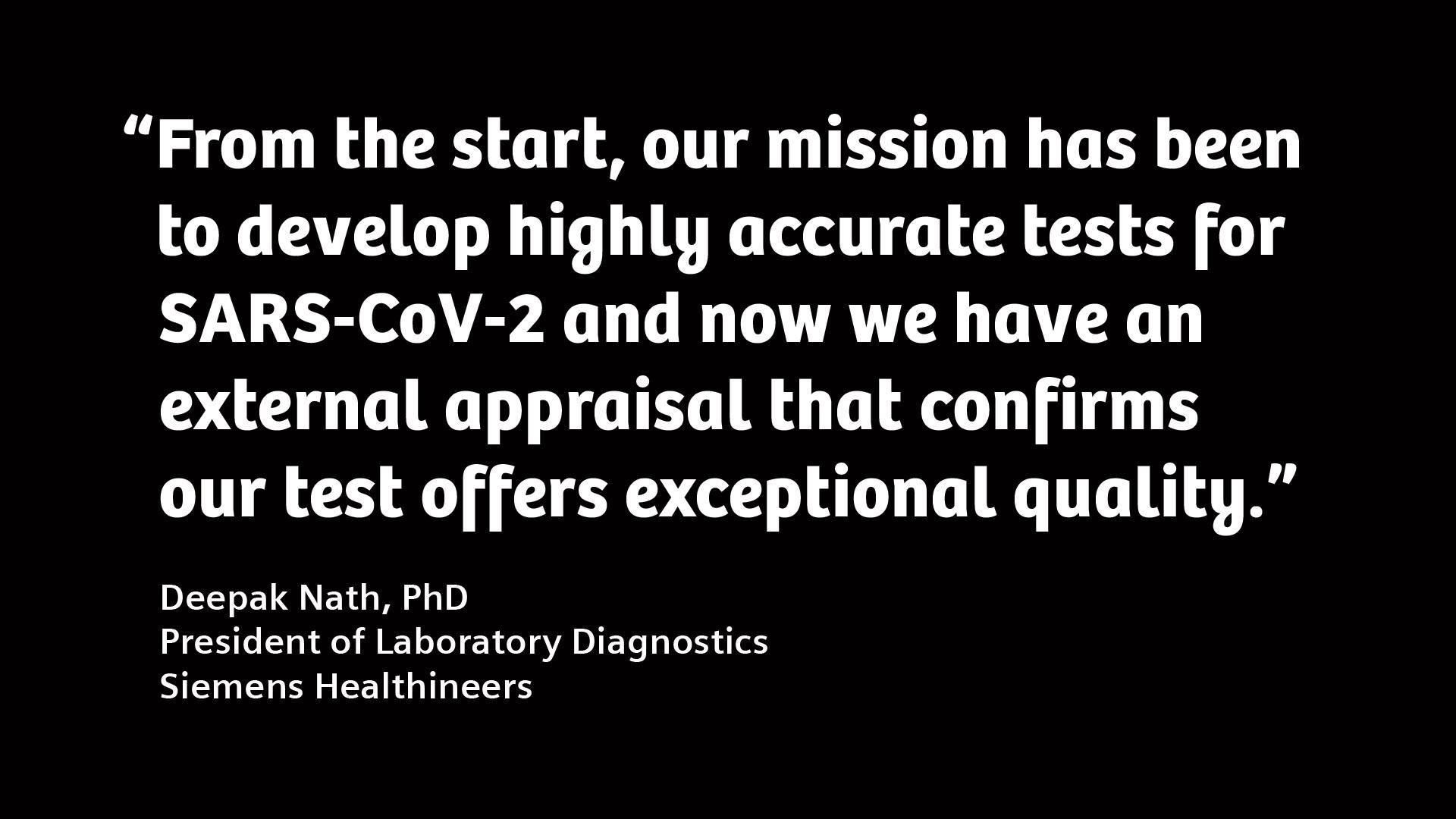 Atellica® IM SARS-CoV-2 Total Antibody Assay Evaluated