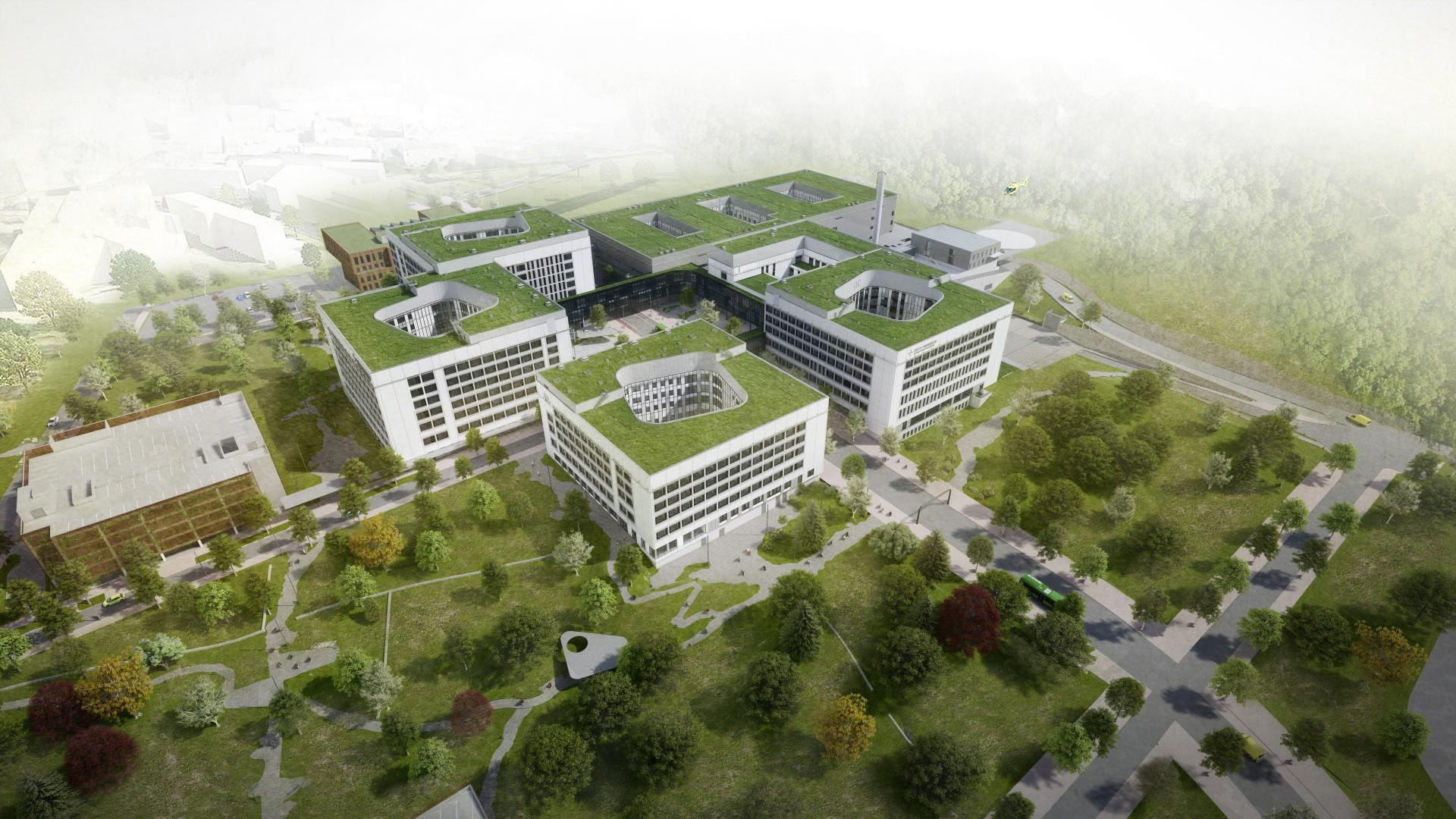 Stavanger hospital planning