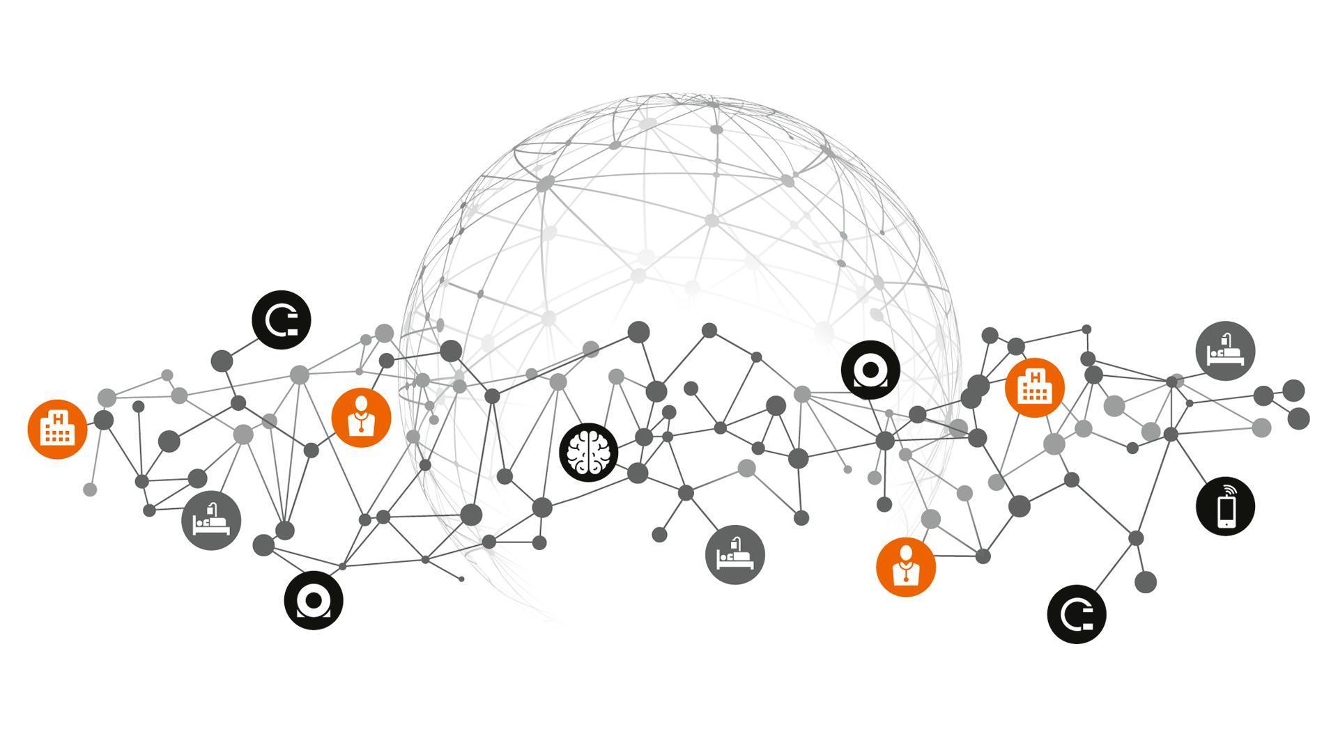 digital health platform illstration