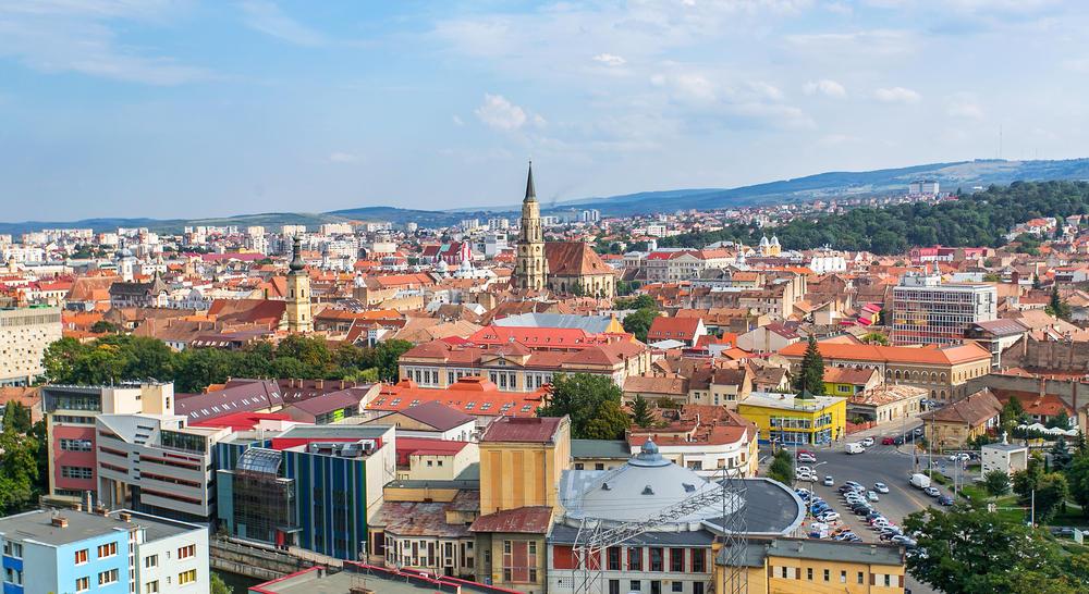 Blick über Cluj Napoca