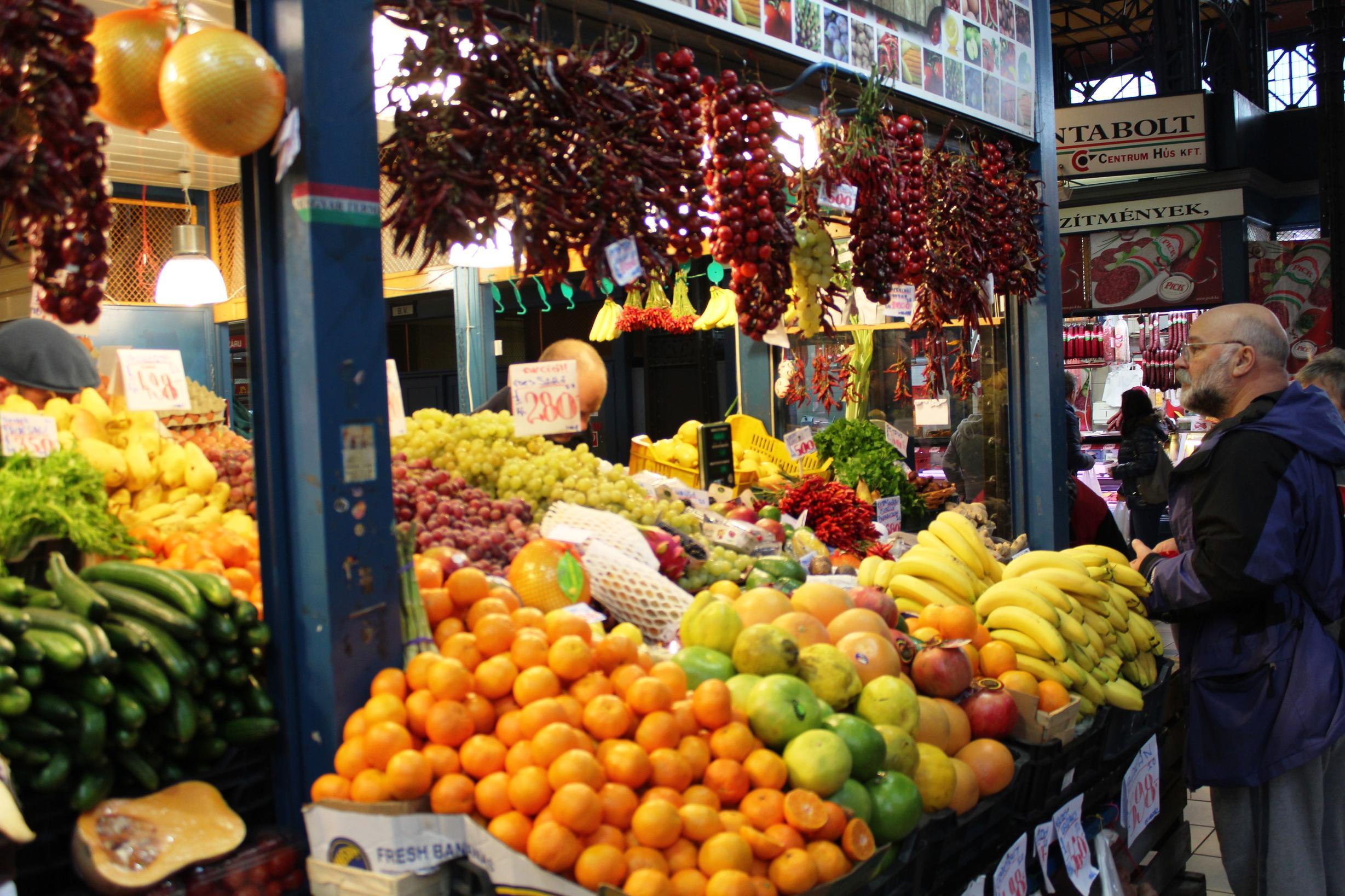 Leckeres Obst in Hülle und Fülle