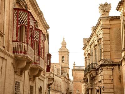 Gebäude in Mdina auf Malta