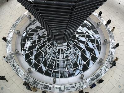 Kuppel im Berliner Reichstag