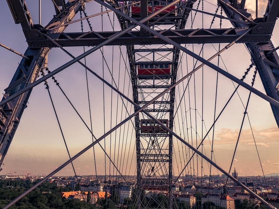 Blick vom Wiener Riesenrad