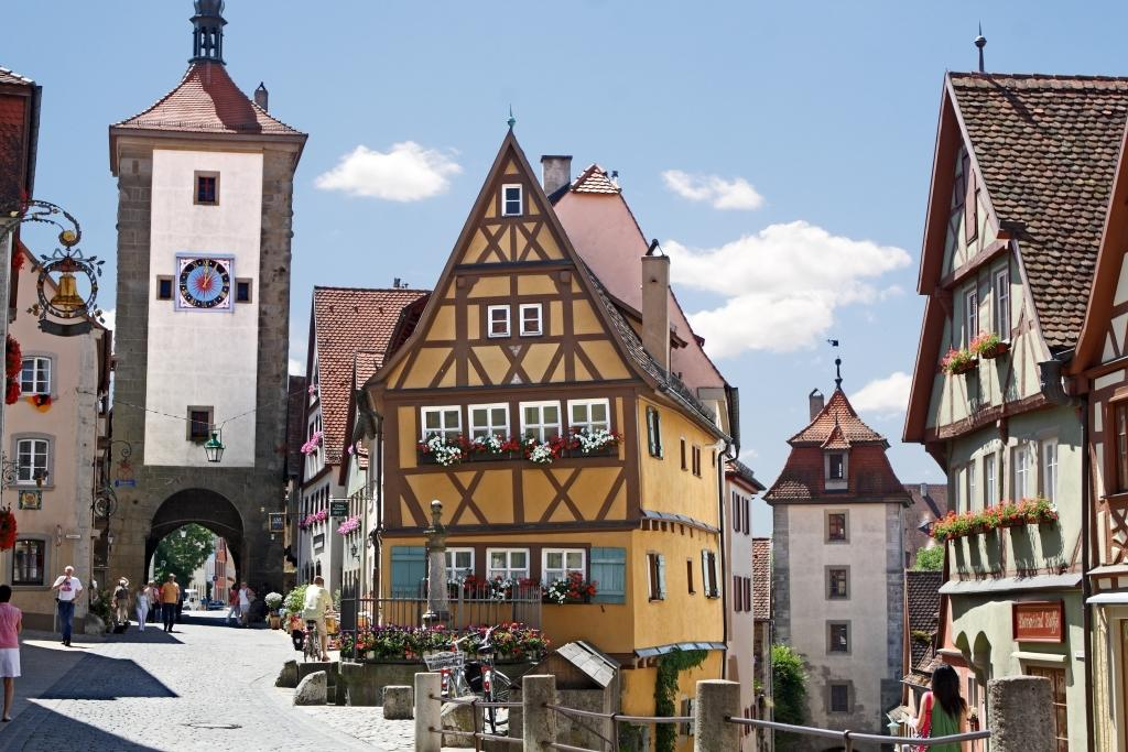 Altstadt in Rothenburg