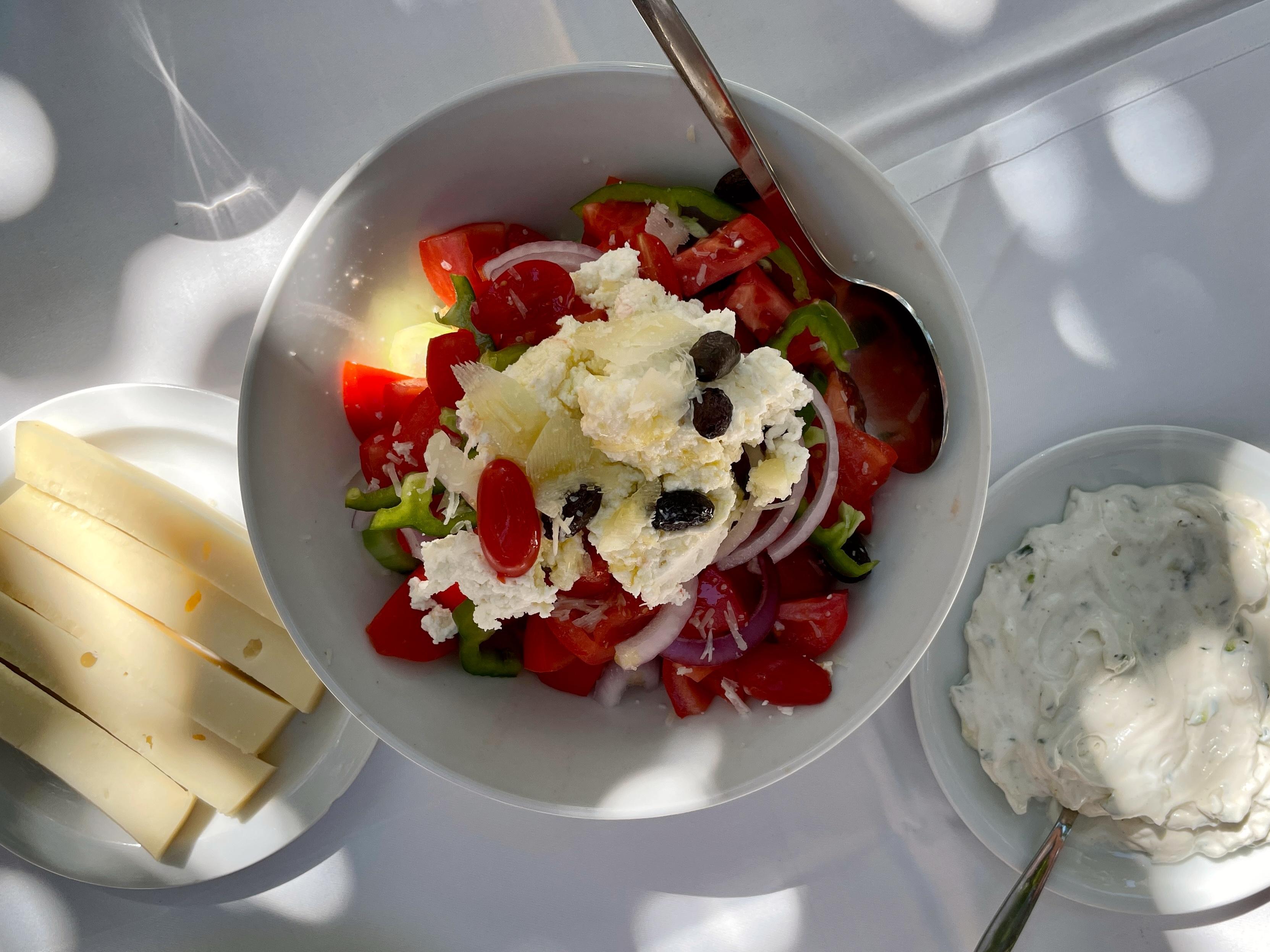 Griechischer Salat - geht immer!