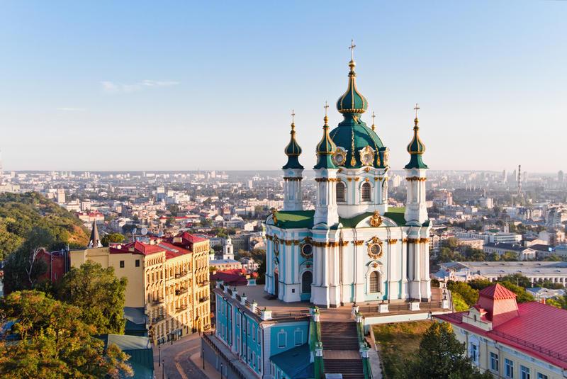 Kiew st. andreas kirche