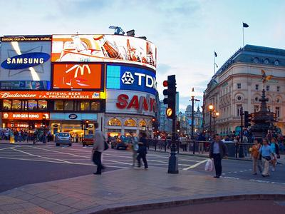 Picadilly Circus in London