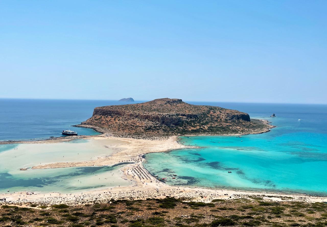Wohl eine der schönsten Aussichten auf Kreta.