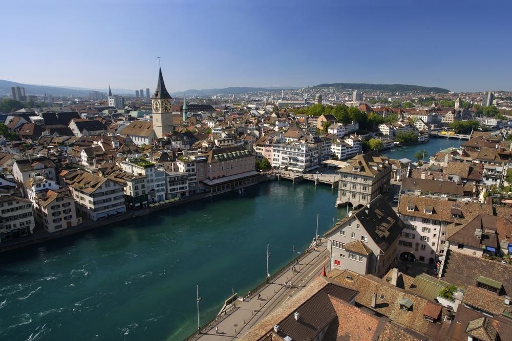 Blick über Zürich