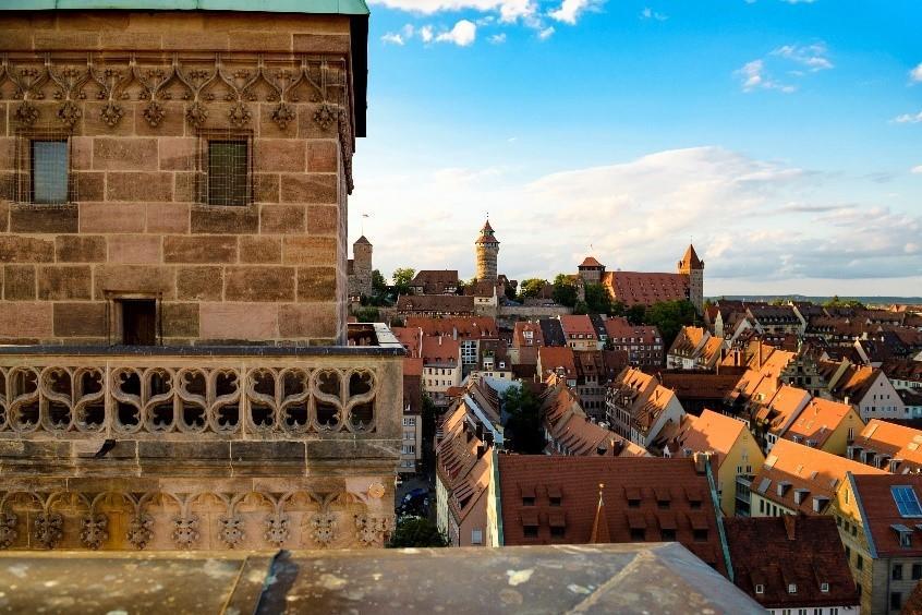 Aussicht vom Kirchturm St. Sebald