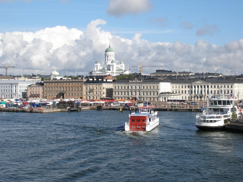 Kanal in Helsinki