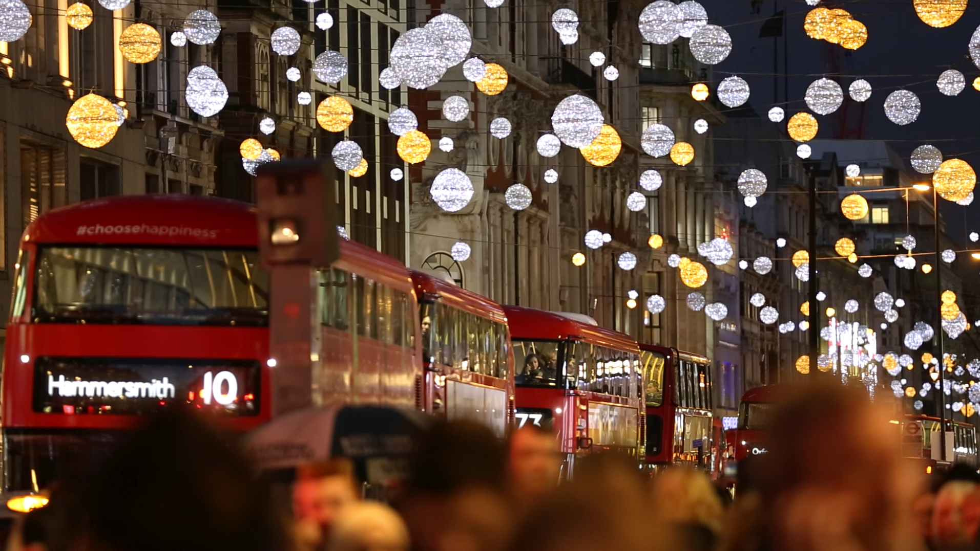 Weihnachts-Shopping in London