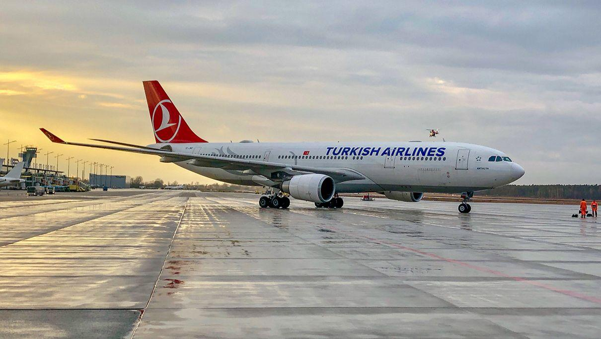 Airbus A330 der Turkish Airlines