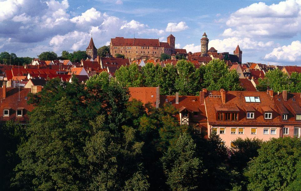 Nürnbergs Kaiserburg
