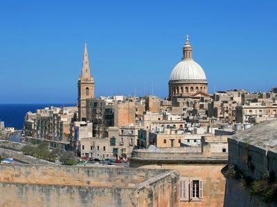 Blick auf Maltas Hauptstadt Valetta