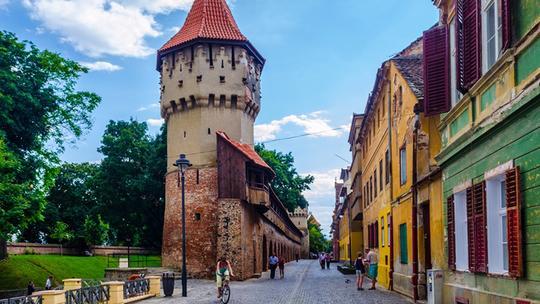 Sibiu wehrturm