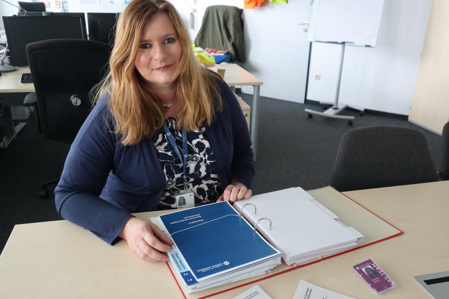 Martina Schott arbeitet im Notfallmanagement.
