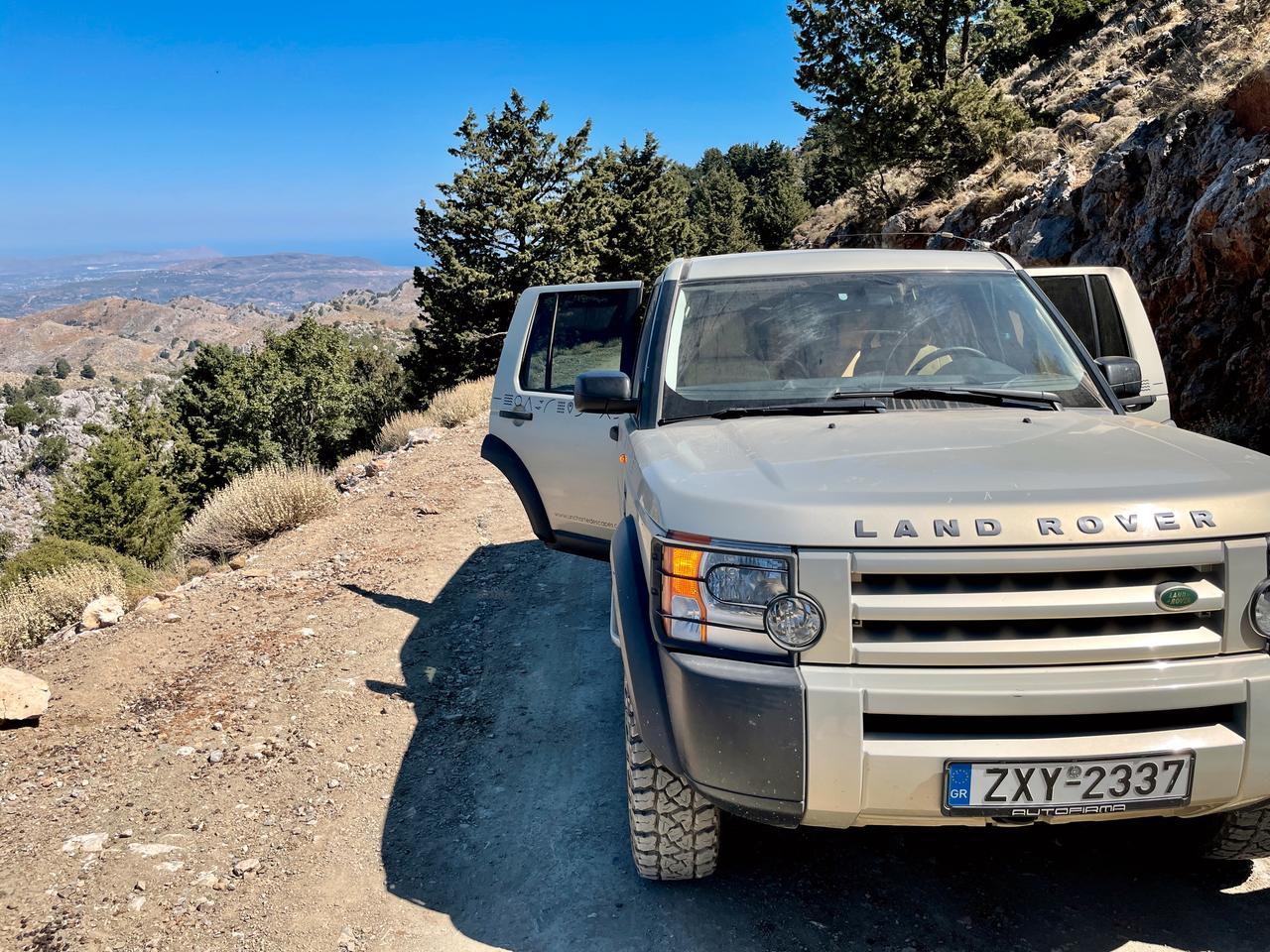 Mit dem Geländewagen ins Gebirge von Kreta