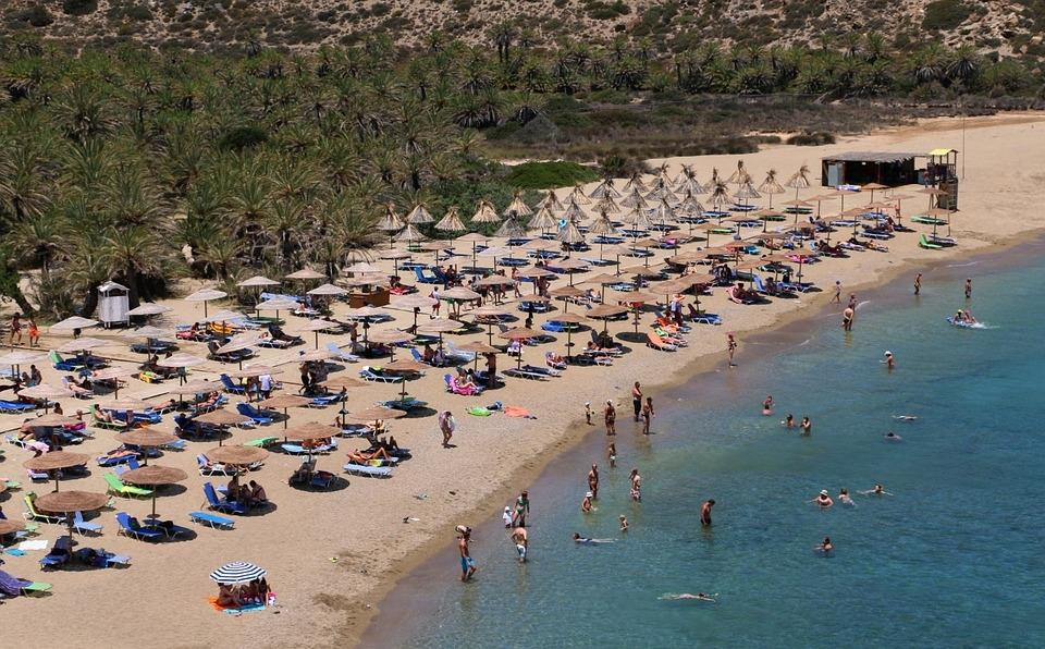 Palmenstrand Vai auf Kreta