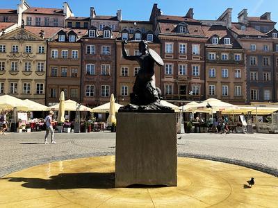 Die Seejungfer von Warschau.