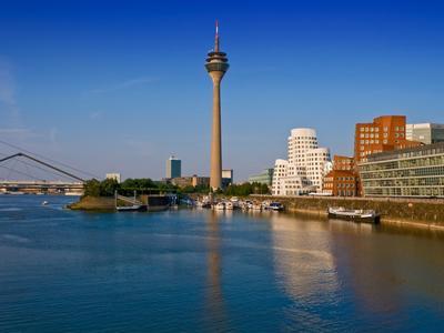 Skyline von Düsseldof