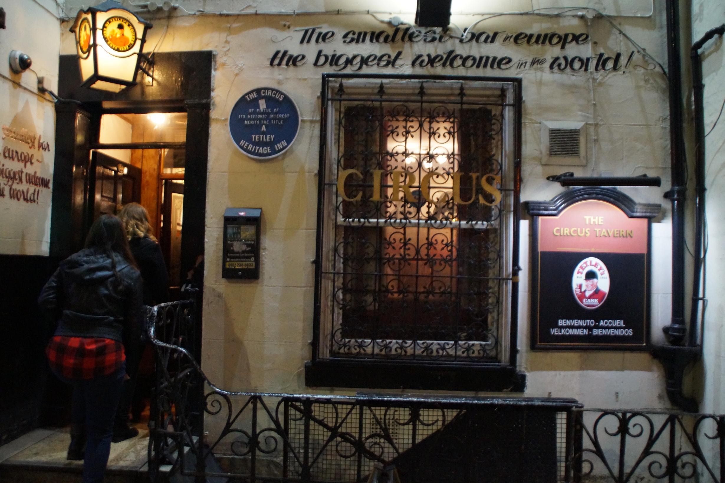 Die angeblich kleinste Bar Europas