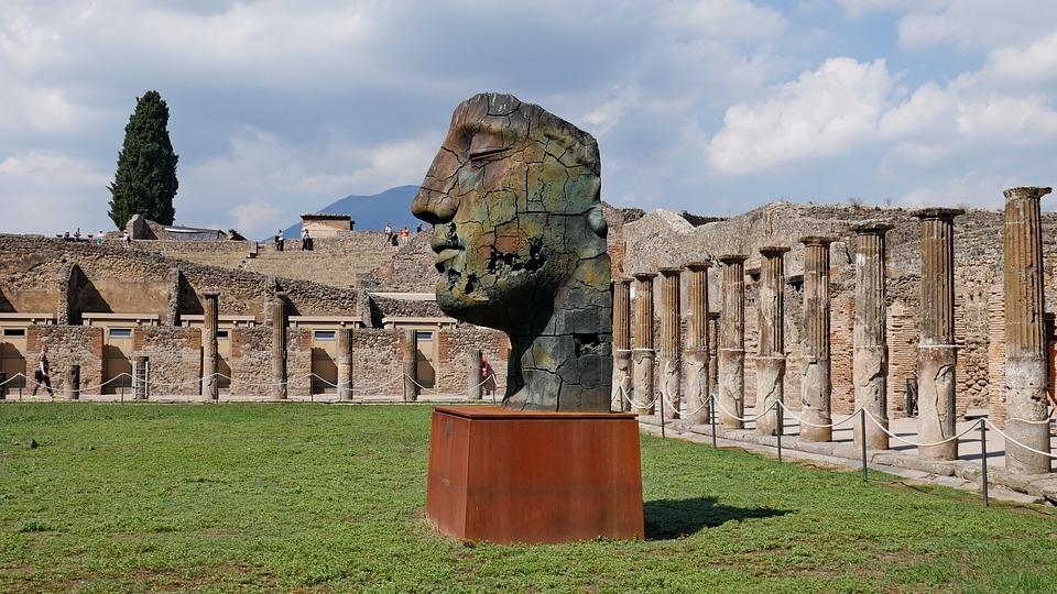 Pompeji nahe Neapel
