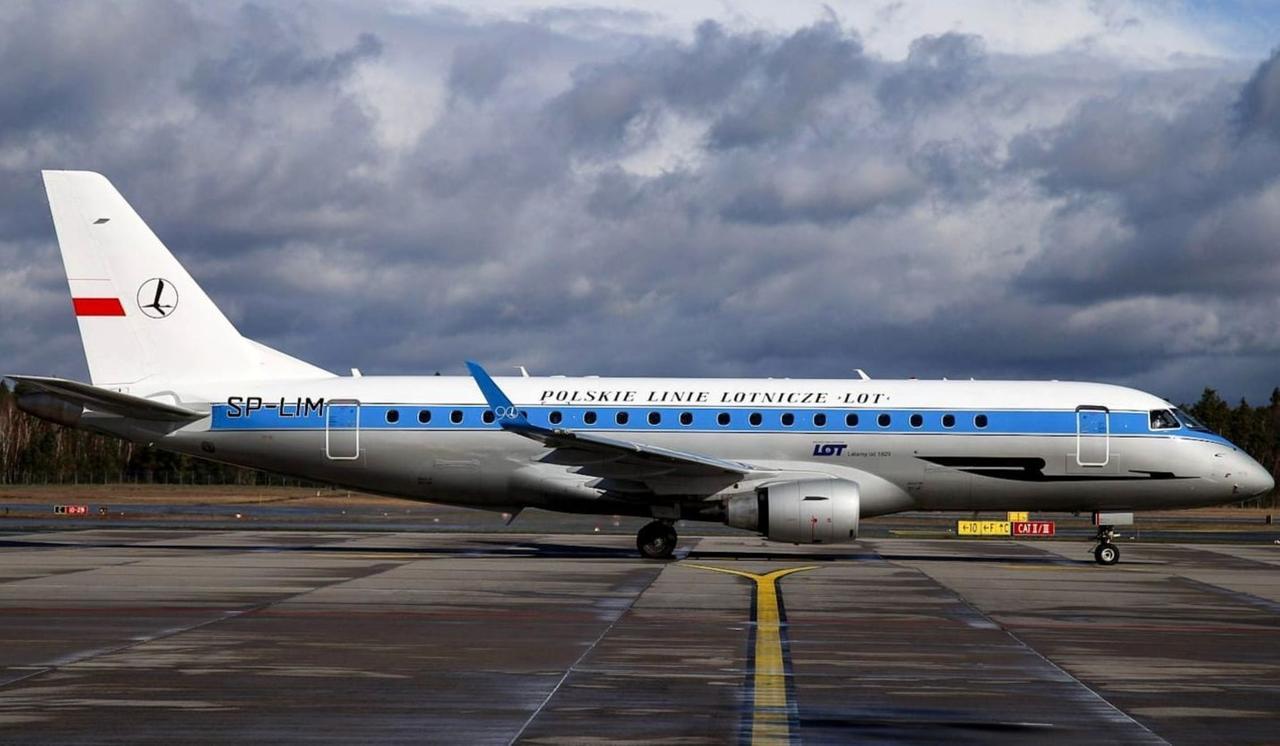 Modell: Embraer 175, Jahr: 2019